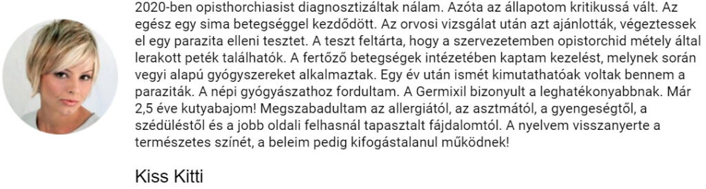 Kiss Kitti recenziója a Germixilről
